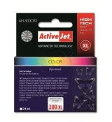 ACTIVEJET Ink Cartridge Premium AH-300CRX (AH-C44) color (HP 300XL CC644EE)